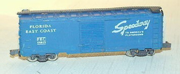 N Scale - Arnold - 0411F - Boxcar, 40 Foot, PS-1 - Florida East Coast - 21025