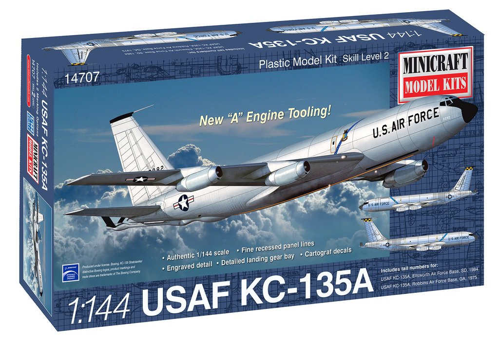 N Scale - Minicraft - 14707 - Vehicle, Aircraft - United States Air Force