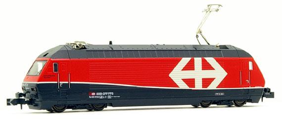 N Scale - Kato Lemke - K137114 - Locomotive, Electric, Re 460 - SBB CFF FFS - 460 016-9