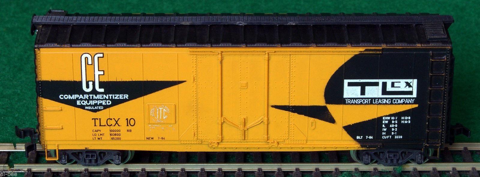 N Scale - AHM - 4454B - Reefer, 50 Foot, Mechanical - Transport Leasing Company - 10
