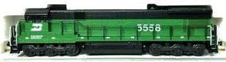 N Scale - Kato USA - 176-173 - Engine, Diesel, U30C - Burlington Northern - 5394