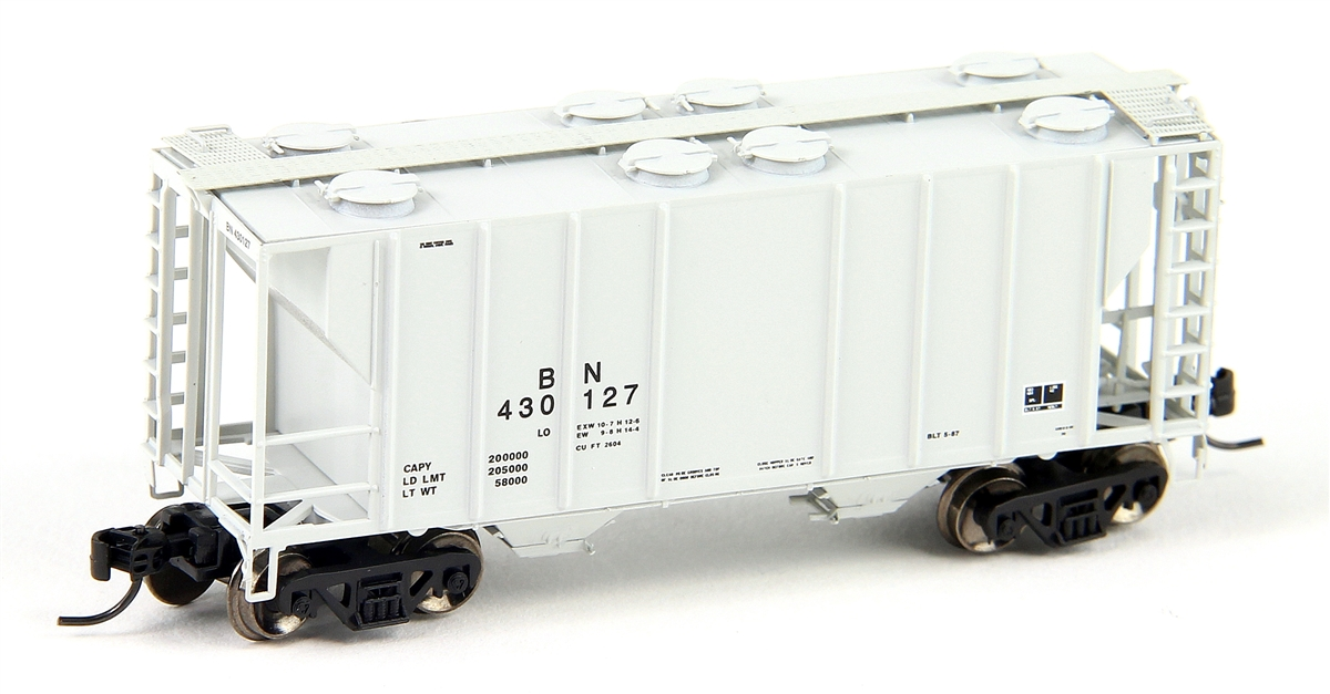 N Scale - Athearn - 12272 - Covered Hopper, 2-Bay, PS2 - Burlington Northern - 430127