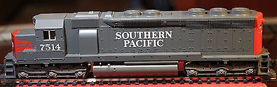 N Scale - Kato USA - 176-31A - Locomotive, Diesel, EMD SD45 - Southern Pacific - 7514
