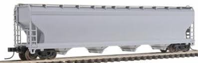 N Scale - Model Power - 3475 - Covered Hopper, 4-Bay, ACF Centerflow - Undecorated