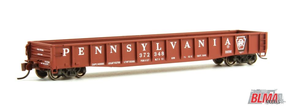 N Scale - BLMA - 14039 - Gondola, 52 Foot, ACF 70-Ton - Pennsylvania - 373018