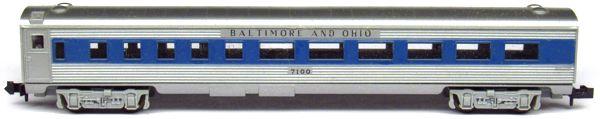 N Scale - Minitrix - 3031 - Passenger Car, Lightweight, Budd - Union Pacific - 960