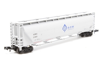 N Scale - Walthers - 932-8151 - Covered Hopper, 5-Bay, Trinity 5660 PD - Archer Daniels Midland - 51065