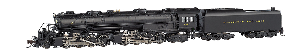 N Scale - Bachmann - 80452 - Engine, Steam, 2-8-8-4 EM-1 - Baltimore & Ohio - 7627