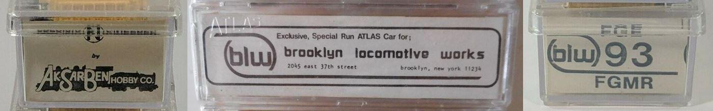 N Scale - Brooklyn Locomotive Works - BLW-93 - Reefer, 50 Foot, Mechanical - Fruit Growers Express - 90932