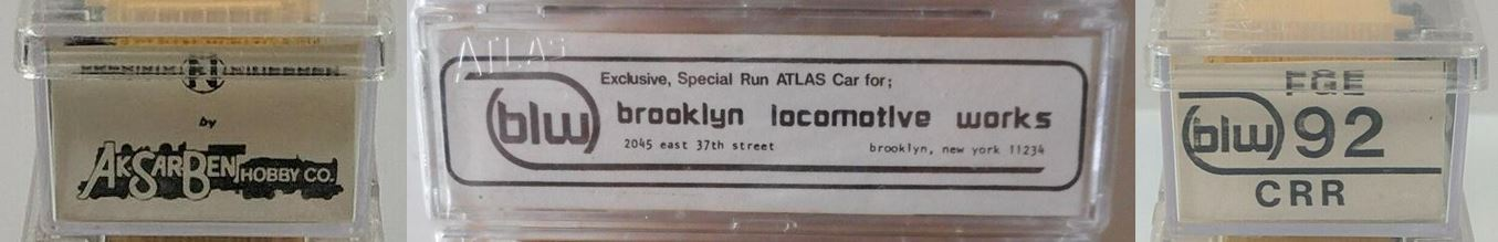 N Scale - Brooklyn Locomotive Works - BLW-92 - Reefer, 50 Foot, Mechanical - Fruit Growers Express - 98766
