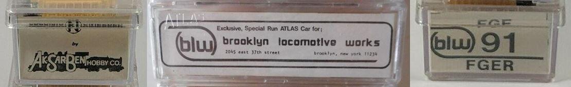 N Scale - Brooklyn Locomotive Works - BLW-91 - Reefer, 50 Foot, Mechanical - Fruit Growers Express - 11767