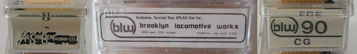 N Scale - Brooklyn Locomotive Works - BLW-90 - Reefer, 50 Foot, Mechanical - Fruit Growers Express - 91056