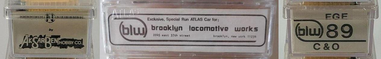 N Scale - Brooklyn Locomotive Works - BLW-89 - Reefer, 50 Foot, Mechanical - Fruit Growers Express - 894087