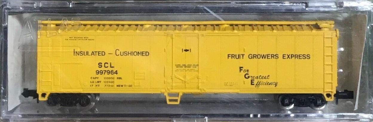 N Scale - Brooklyn Locomotive Works - BLW-94 - Reefer, 50 Foot, Mechanical - Fruit Growers Express - 997964