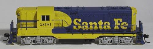 N Scale - Atlas - 48057 - Locomotive, Diesel, EMD GP7 - Santa Fe