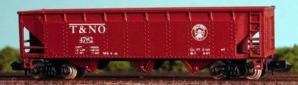 N Scale - Con-Cor - CCSR 013 - Open Hopper, 3-Bay Steel - Texas & New Orleans - 4782