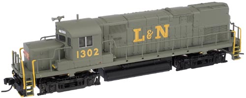 N Scale - Atlas - 40 000 116 - Locomotive, Diesel, Alco C-420 - Louisville & Nashville - 1300