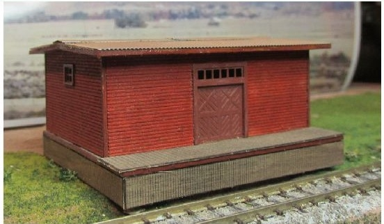 N Scale - RSLaserKits - 3062 - 2 Story Stone Building - Undecorated