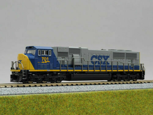 N Scale - Kato USA - 176-6307 - Locomotive, Diesel, EMD SD70 - CSX Transportation - 713