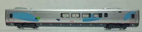 N Scale - Bachmann - 89971 - Acela Cafe Car - Amtrak - 3306