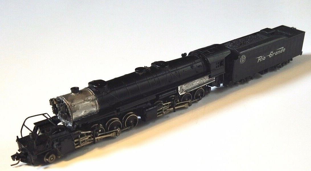 N Scale - Atlas - 4152 - Locomotive, Steam, 2-8-8-2 USRA - Rio Grande