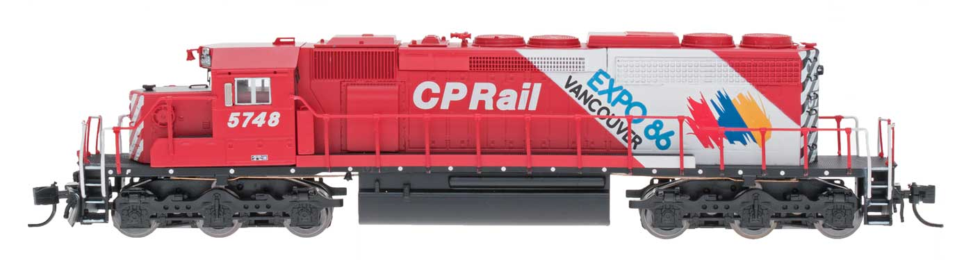N Scale - InterMountain - 69336D-02 - Locomotive, Diesel, EMD SD40-2 - Canadian Pacific - 5748