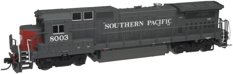 N Scale - Atlas - 40 000 482 - Locomotive, Diesel, GE Dash 8 - Southern Pacific - 8003