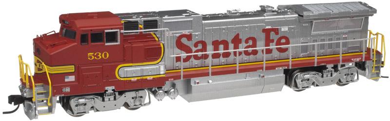 N Scale - Atlas - 40 000 516 - Locomotive, Diesel, GE Dash 8 - Santa Fe - 580
