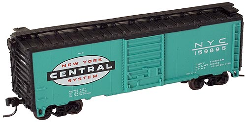 N Scale - Atlas - 34574A - Boxcar, 40 Foot, PS-1 - New York Central - 159895