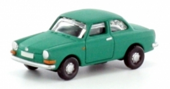 N Scale - Lemke - LC4102 - Automobile, Volkswagen 1600 L - Painted/Unlettered