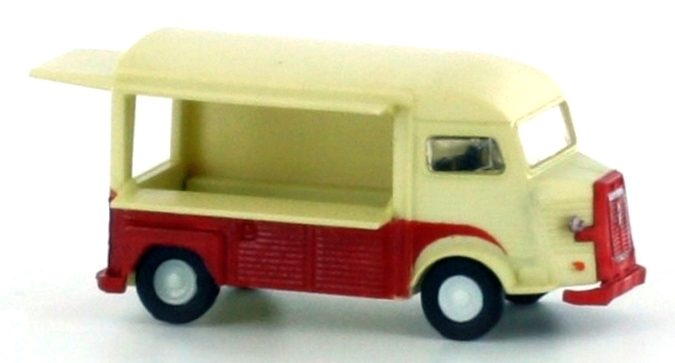 N Scale - Lemke - LC4152 - Automobile, Citroën, Type H - Painted/Unlettered