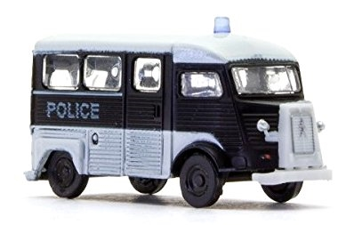N Scale - Lemke - LC4159 - Automobile, Citroën, Type H - Police Dept