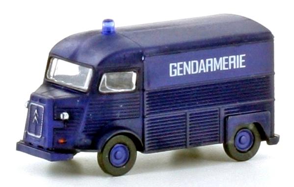 N Scale - Lemke - LC4172 - Automobile, Citroën, Type H - Police Dept