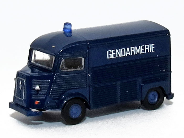 N Scale - Lemke - LC4169 - Automobile, Citroën, Type H - Police Dept