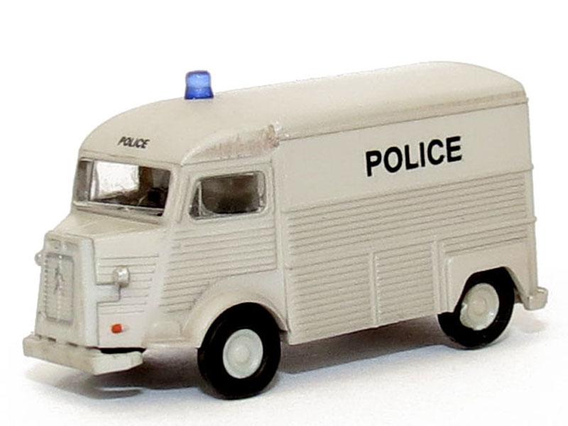 N Scale - Lemke - LC4170 - Automobile, Citroën, Type H - Police Dept