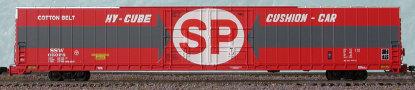 N Scale - Bluford Shops - 86352 - Boxcar, 85 or 86 Foot, Auto Parts - Burlington Route - 2 Different