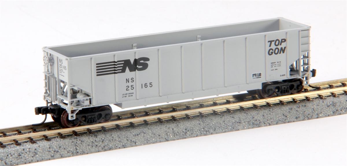 N Scale - BLMA - 10080 - Gondola, Bathtub, NS TopGon - Norfolk Southern - 23430