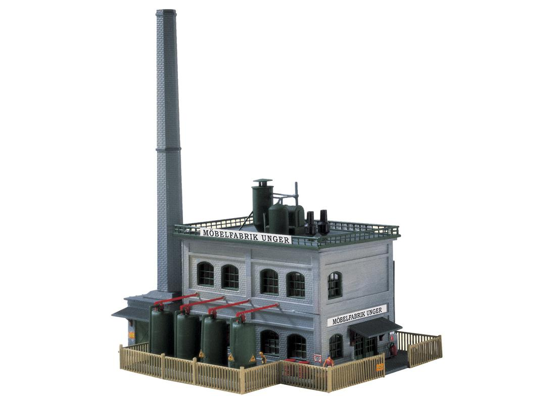 N Scale - Piko - 60029 - Unger Furniture Factory - Company - Möbelfabrik Unger