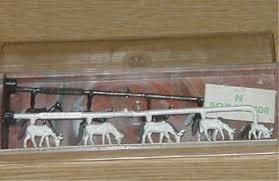 N Scale - Merten - N2408 - Horses - Animals