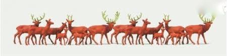 N Scale - Merten - N2410 - Deer - Animals