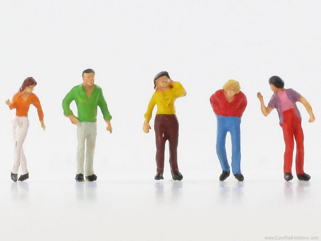 N Scale - Vollmer - 42353 - Shoppers - People