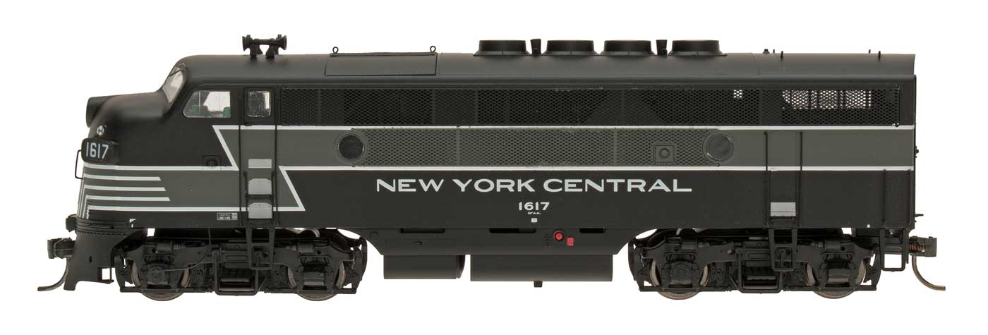 N Scale - InterMountain - 69101D-09 - Locomotive, Diesel, EMD F3 - New York Central - 1607