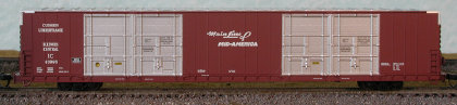 N Scale - Bluford Shops - 87212 - Boxcar, 85 or 86 Foot, Auto Parts - Illinois Central - 43994, 43971