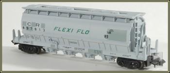 N Scale - Eastern Seaboard Models - 110500 - Covered Hopper, 4-Bay, ACF Centerflow - Conrail - 897813