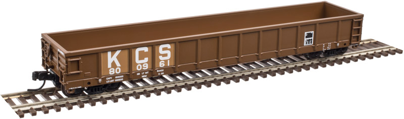 N Scale - Atlas - 50 003 045 - Gondola, 52 Foot, Evans - Kansas City Southern - 800724