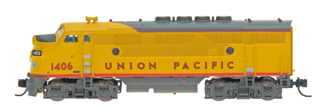 N Scale - InterMountain - 69103-11 - Locomotive, Diesel, EMD F3 - Union Pacific - 1407