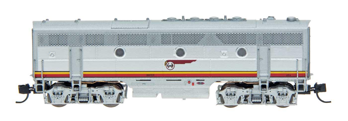 N Scale - InterMountain - 69805-06 - Locomotive, Diesel, EMD F3 - Santa Fe - 22B