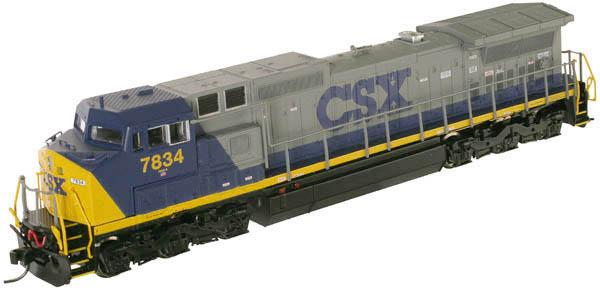 N Scale - Atlas - 51910 - Locomotive, Diesel, GE Dash 8 - Santa Fe - 816