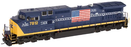 N Scale - Atlas - 51942 - Locomotive, Diesel, GE Dash 8 - CSX Transportation - 7812