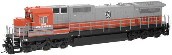 N Scale - Atlas - 51839 - Locomotive, Diesel, GE Dash 8 - GM Demonstrator - 001
